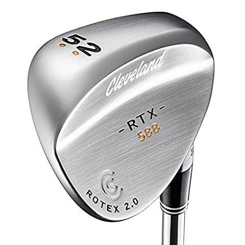 Cleveland 588 Rtx 2.0 Forged Tour Satin , Golf Wedge Droitier (52 º Loft: 52 °, Bounce: Standard , acier)