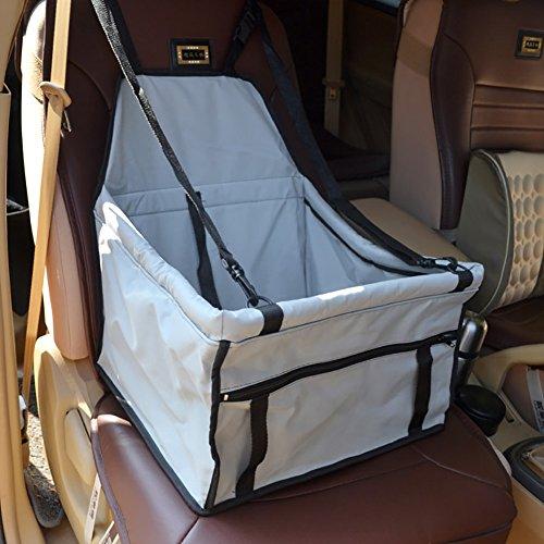Hund Auto Kissen Auto Pet Pad Auto Sitzkissen Hund Sicherheit Sitze Indoor Das Auto Anti-dreckigen Hundematte Liefert (Farbe : Silber grau, größe : Style 1)