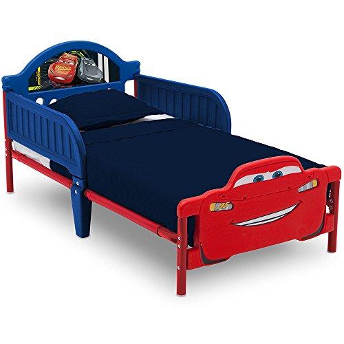 Kinderbett - Babybett - Jugendbett - 3D mit Motivauswahl (Cars 3)