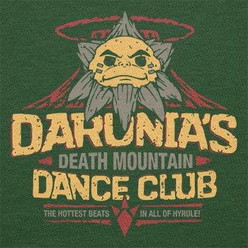 TEXLAB - Death Mountain Dance Club - Herren T-Shirt Flaschengrün