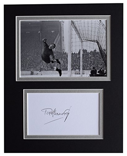 Sportagraphs-Pat-Jennings-Signed-Autograph-10×8-photo-display-Tottenham-Hotspur-AFTAL-COA-PERFECT-GIFT
