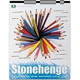 Stonehenge PAD 15shts 5 x 7 WHITE by Legion Paper