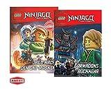 LEGO Ninjago - Garmadons Rückkehr + Jagd nach den Oni-Masken (Gebundenes Buch), für Erstleser &...