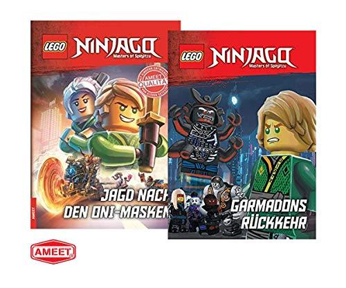 LEGO Ninjago - Garmadons Rückkehr + Jagd nach den Oni-Masken (Gebundenes Buch), für Erstleser & Ninjago-Fans