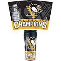 'WinCraft Snack-Schale 2017Stanley Cup Champions Pittsburgh Penguins Klauenhammer,. Contour Travel Tasse