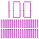 Proiettili di Ricarica, Foxom 100 Pezzi Dardi Soft Proiettili Per Nerf Rebelle 7cm, Rosa