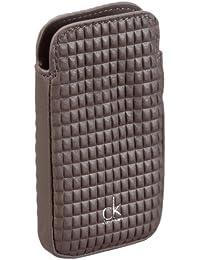 ck Calvin Klein Micromineral KRL600PMF00 - Llavero de cuero para mujer