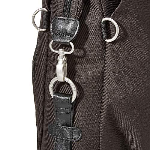 Lässig Green Label Neckline Bag Wickeltasche/Babytasche inkl. Wickelzubehör aus recyceltem Material, black - 4