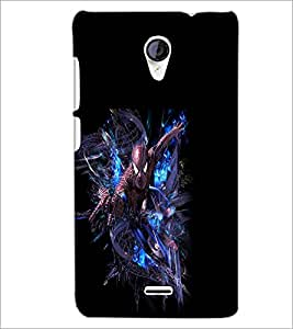 PRINTSWAG CARTOON CHARACTER Designer Back Cover Case for MICROMAX A106 UNITE 2