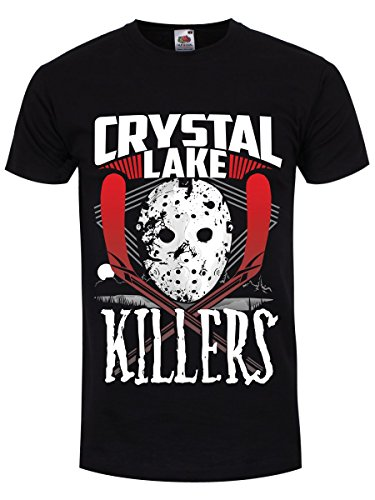 Men's Crystal Lake Killers Jason T-Shirt, Black, S to 3XL