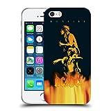 Ufficiale AC/DC ACDC Bonfire Arte Album Cover Morbida In Gel Per Apple iPhone 5 / 5s / SE