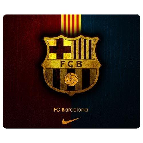 Preisvergleich Produktbild 26x 21cm/25,4x 20,3cm Gaming Mauspad Präzise Tuch & umweltfreundlichem Gummi Wasser beständig Custom Mousepad Barcelona FCB FC Fußball Club Logo