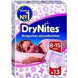 DryNites - Braguitas absorbentes para niñas de 8 – 15 años, 2 paquetes x 13 braguitas