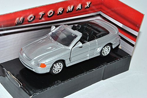 g SVT Cobra Cabrio Silber 1994-2004 IV 1/43 Modell Auto mit individiuellem Wunschkennzeichen ()