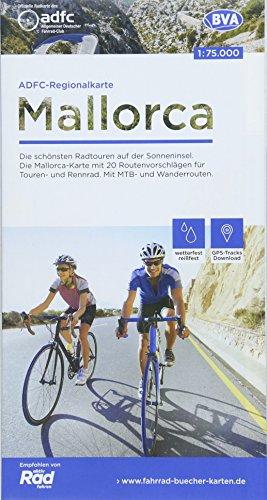 ADFC-Regionalkarte Mallorca, 1:75.000, reiß- und wetterfest, GPS-Tracks Download: Die schönsten Radtouren auf der Sonneninsel. Die Mallorca-Karte mit ... Wanderrouten. (ADFC-Regionalkarte 1:75000)