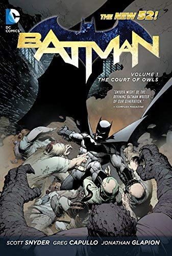 Batman HC Vol 01 The Court Of Owls (Batman (DC Comics)) by Greg Capullo (Artist), Jonathan Glapion (Artist), Scott Snyder (11-May-2012) Hardcover