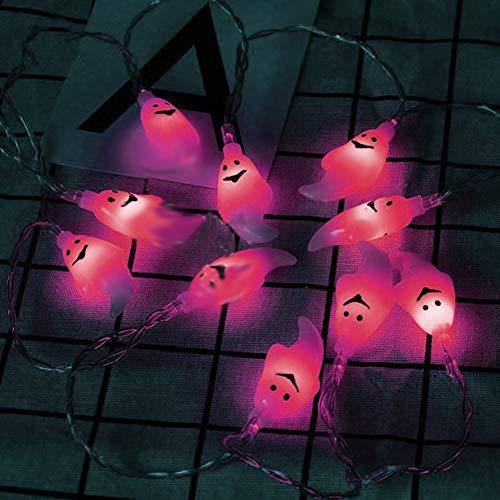 Luci Dello Spettro Di Festa Delle Luci Della Corda Dello Spettro Di Halloween, Luci principali A Colori LED A Flor Pro LE DECORAZIONI Dell 'Interno rosa Rose