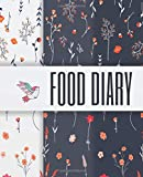 Food Diary: Meal Planning Notebook Tracker - A Weight Loss Journal for 90 days food exercise & fitness diet journal