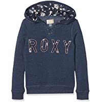 Roxy Hope You Know B Sudadera con Capucha y Cremallera, Niñas, Azul (Dress Azuls/Heather), 14/XL
