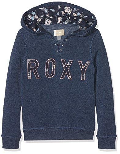 Roxy Kinder Hoodie (Roxy Mädchen Hope You Know B G OTLR BTKH Fleece Top, Dress Blues-Heather, 10/M)