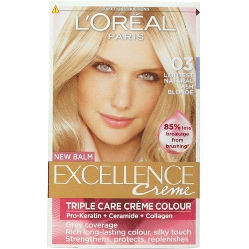 3-x-loreal-excellence-creme-hair-colour-03-lightest-natural-ash-blonde