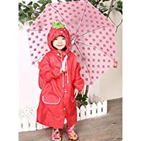 hibote Cartoon Animal Shapes Children Raincoat Kids Poncho 90cm-130cm