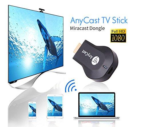 AnyCast M2 Plus WiFi 1080P FHD HDMI TV Stick DLNA Wireless Chromecast Airplay Dongle