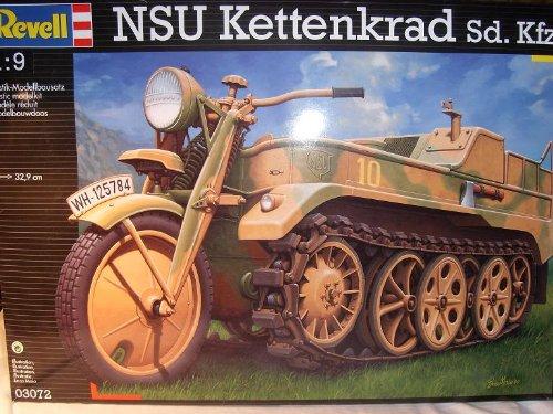NSU Kettenrad Sd Kfz 03072 3072 1/9 Revell Modell