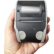Imprimante miniature de billet thermique rapide sans fil de mini étiquette portative d'imprimante portative de Bluetooth