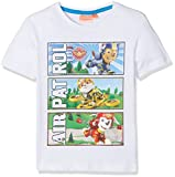 Best Paw Paw Shirts - Nickelodeon Boy's Paw Patrol Sports T-Shirt, White, 5 Review