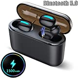 Wireless Earbuds, Bluetooth 5.0 Earbuds with Microphone, True Wireless Headphones, 4D Stereo Sound