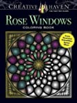 Rose Windows Coloring Book: Create Il...