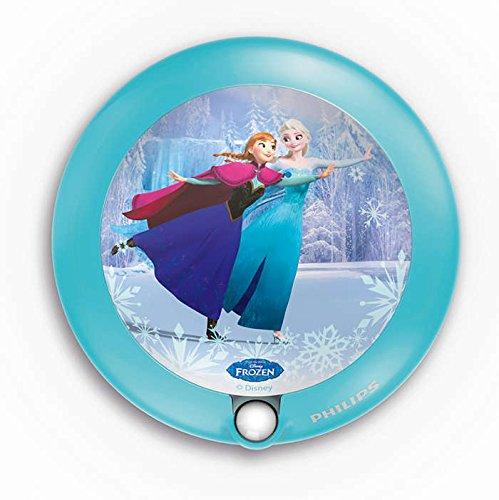Philips Disney Frozen LED Nachtlicht, hellblau 717650816