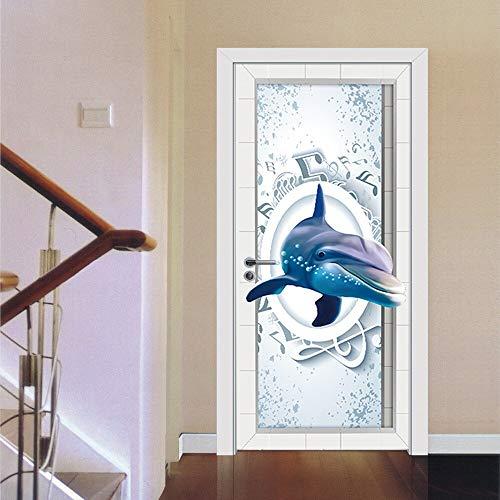 usic Note Kühlschrank Tür Aufkleber PVC Selbstklebende Tapete Kühlschrank Abdeckung Fenster Film Großhandel ()