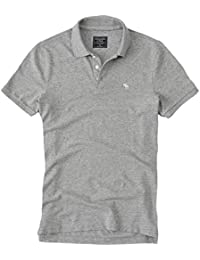 Abercrombie - Homme - Stretch Icon Polo Top Shirt - Manche Courte