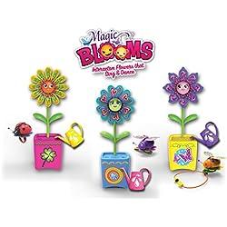 Silverlit 88443 - Magic Floraciones y Bug Interactivo Flor Ámbar con mágico Regadera