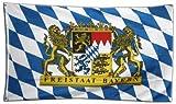 Flaggenking Freistaat Bayern Flagge