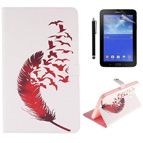 Bella Custodia Per Galaxy Tab A6 70 Samsung TSM T280Smart Cover Book Style In Pelle TAB SM T280 T285N Tablet