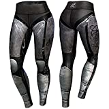 Anarchy Apparel Compression Leggings, Cybersteam, Fitness Pants, Wear, MMA Hosen Größe XS
