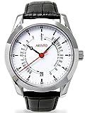 Aristo Unisex Uhr Armbanduhr Ärzteuhr Automatik Leder 4H124