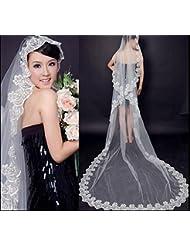 &huahua Hilado/boda/de novia accesorios/manual / 5m/single capa/encaje/largo hilo/fuga alto grado/hermoso , white