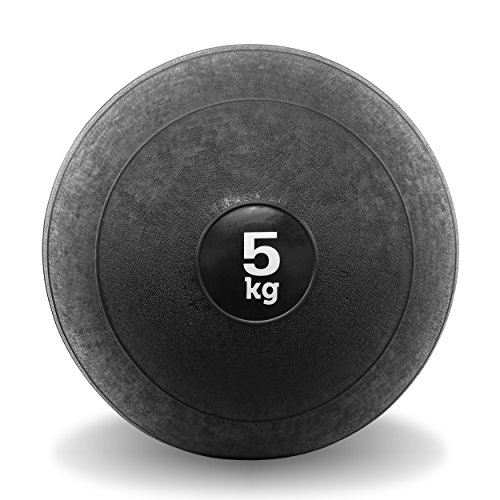 JLL-Slam-Ball-No-Bounce-Heavy-Duty-Rubber-Available-in-5kg-10kg-12kg-15kg-Sports-Medicine-Ball-Ideal-for-Cross-Fit-Core-Workouts-Strength-Training-HIIT-Workouts-5kg