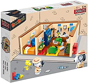 BanBao 7526 Snoopy Secret Agent Sala