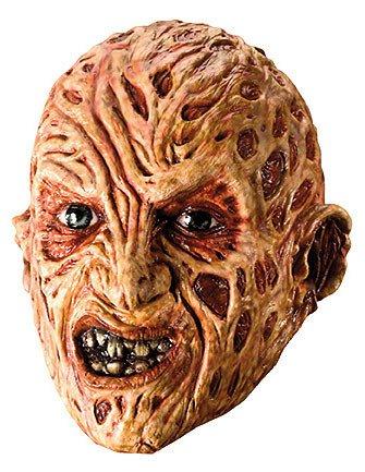 ween Maske Lizenzartikel beige rot (Jack Und Sally Kostüm)