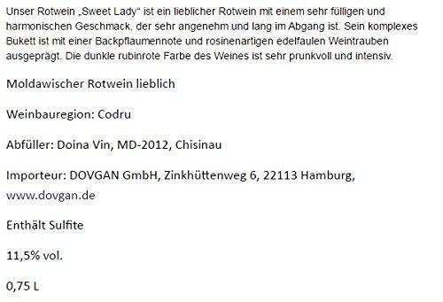 Moldawischer-Rotwein-Sweet-Lady-lieblich-12-vol-1-KATRON-6-Flaschen-je-075L