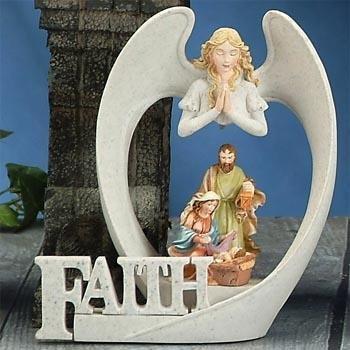 (StealStreet ss-ug-py-9231Engel Flügel Faith Krippe Modell Figur, Sandstein)