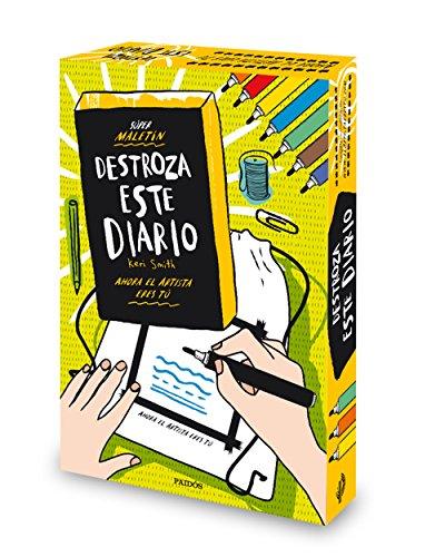 Súper maletín Destroza este diario (Libros Singulares) por Keri Smith