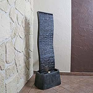 Fontana da parete effetto ardesia dsb13 fontana per for Ardesia per cucinare