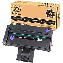 CMYBabee 1-Paquete Reemplazo para Ricoh 407255 407254 407258 Cartucho de tóner Compatible para Ricoh SP200 SP201 SP202 SP203 SP204SFN SP211 SP212 SP213