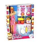 Barbie Puppe und Küche Zubehör Set